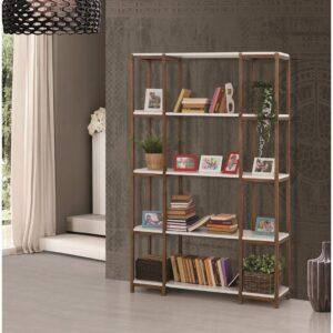 wood kitaplık