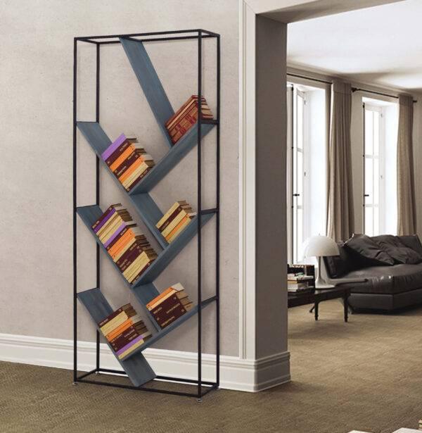 loft metal kitaplık