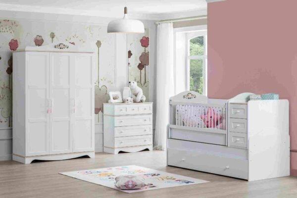 rose bebek odası