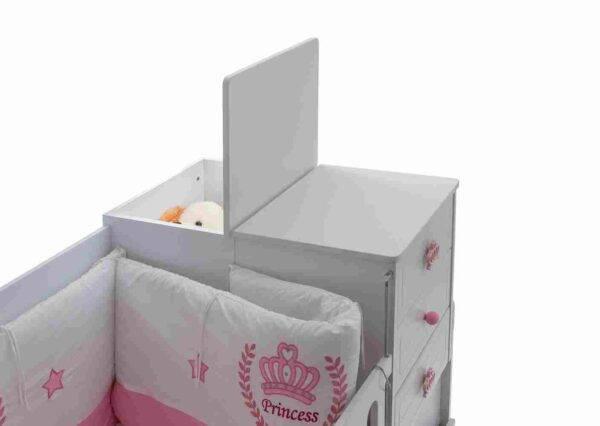 kupon prenses bebek odası