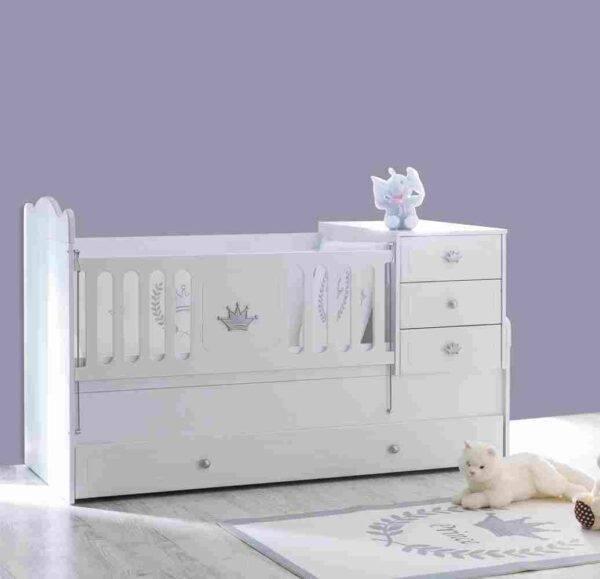 Kupon Kral Gümüş Bebek Odası