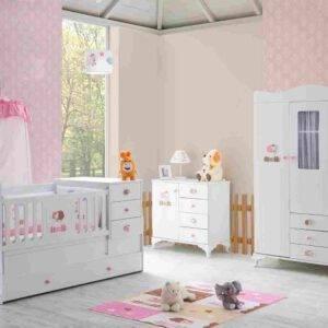 kupon pembe kuzulu bebek odası