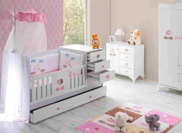kupon kuzulu bebek odası
