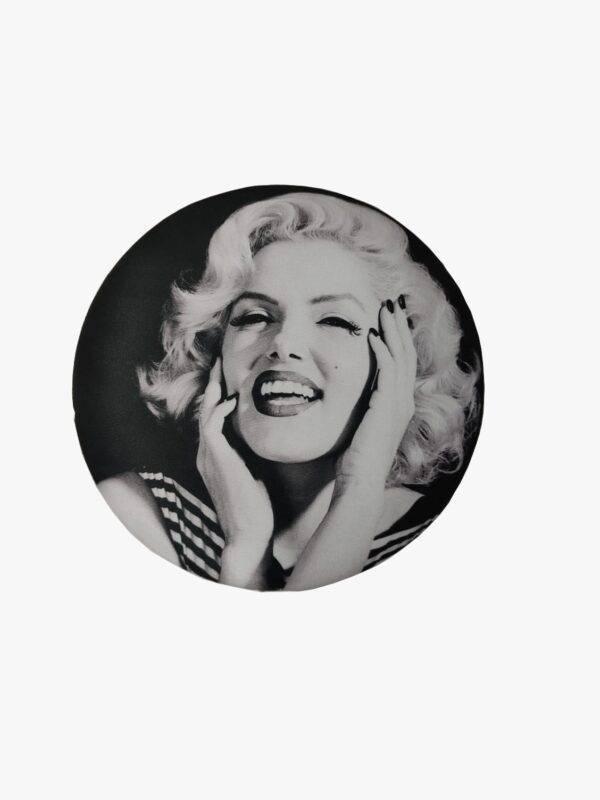 Marilyn Monroe baskılı puf